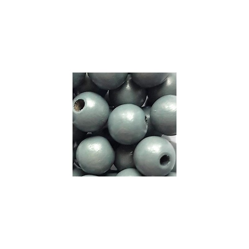 Holzperlen 10mm (50 Stk.)