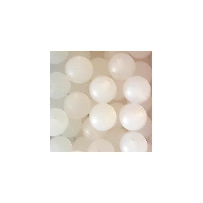 Perlen rund 12mm light Farben