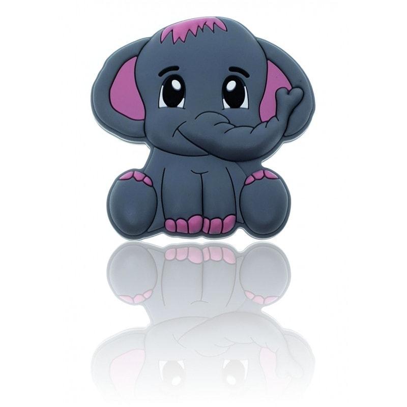 Elefant mehrfarbig