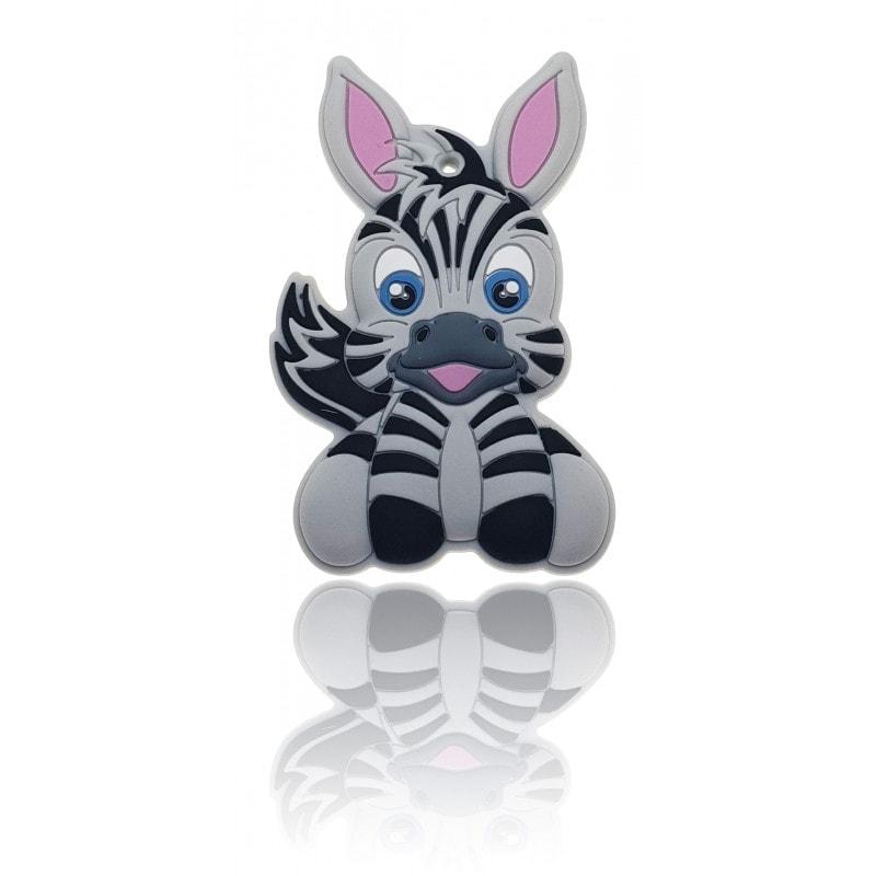 Zebra mehrfarbig