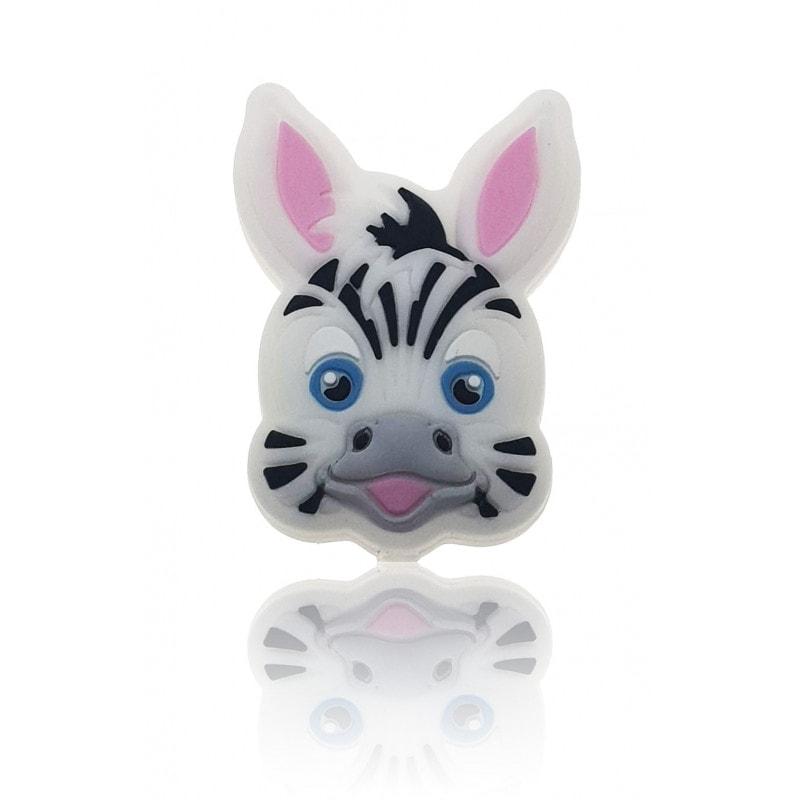 Zebra Perle mehrfarbig