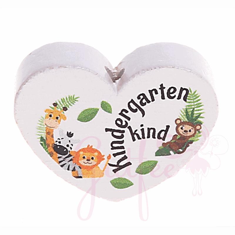 Kindergartenkind Motivherz Holz