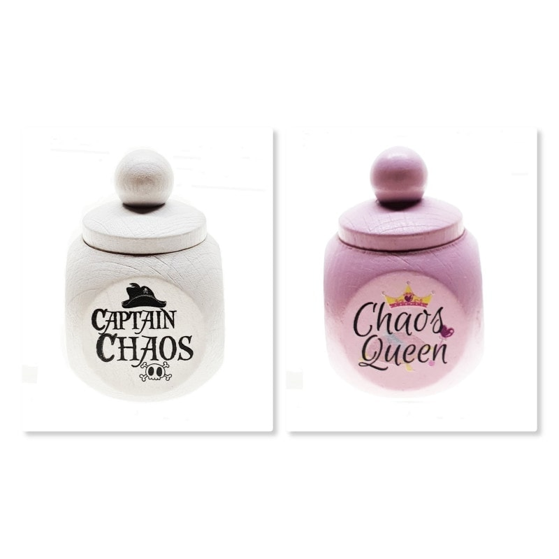 Zahndose Chaos Queen & Captain Chaos