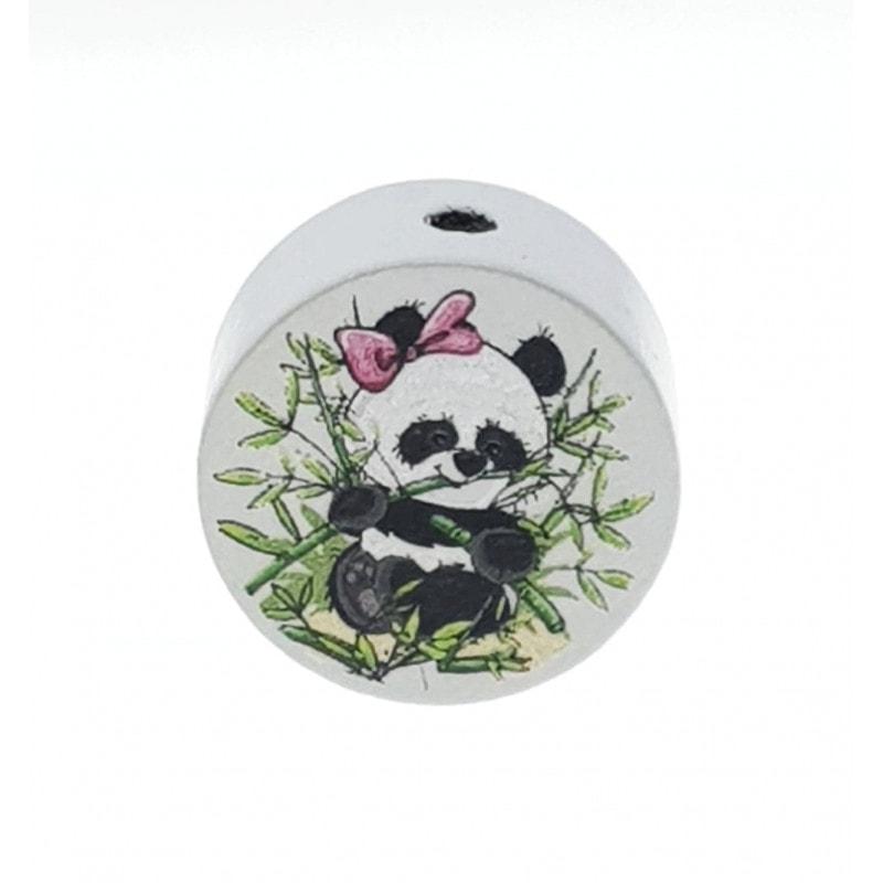 """""""Panda"""" Motivscheibe Holz"""