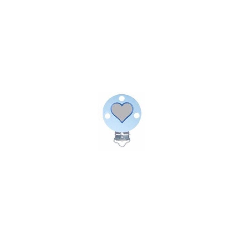 Silikonclips Herzen