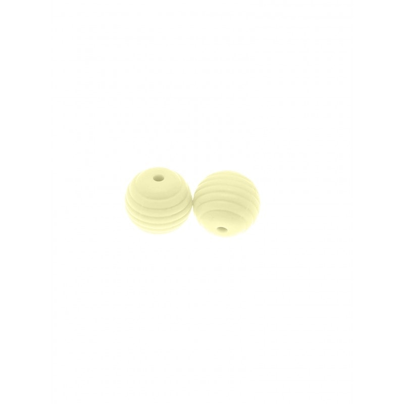 Rillenperlen 15mm