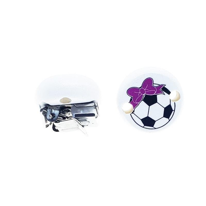 mini Clippies Fussball Mädchen