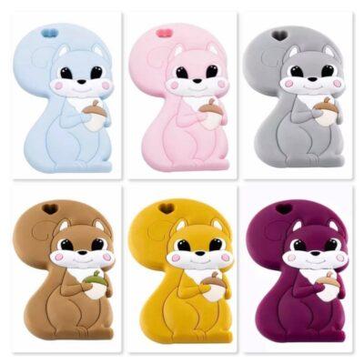 Eichhörnchen mehrfarbig