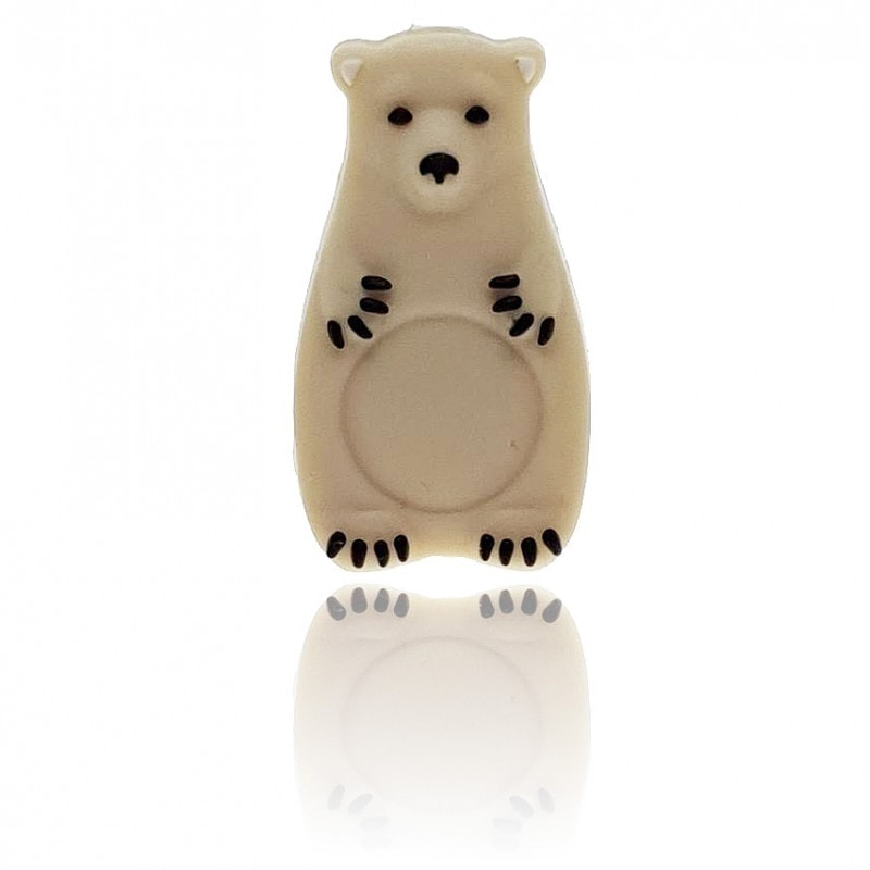 Eisbär Perle farbig