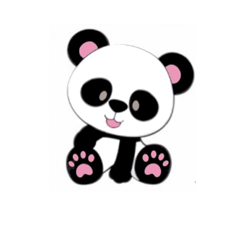Panda Perle farbig
