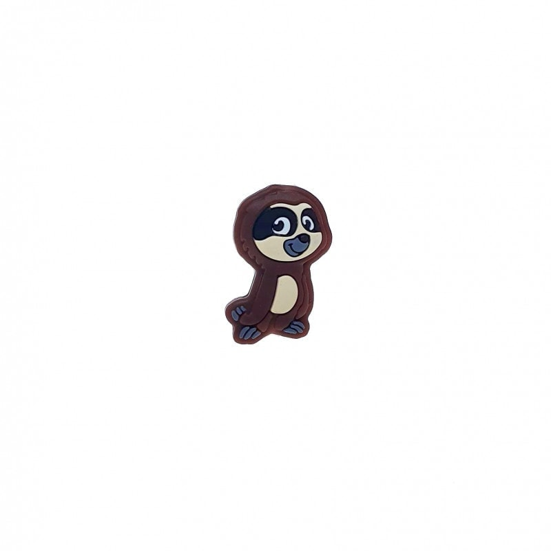 Faultier Perle farbig